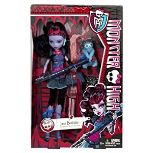 Mattel BLW01 - Monster High Jane Boolittle, Puppe