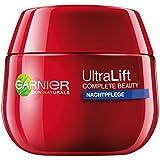 Garnier Ultra Lift Complete Beauty straffende Anti-Falten Nachtpflege (sensitive Gesichtscreme mit natürlichem Pro-Retinol, dermatologisch getestet) 1 x 50ml