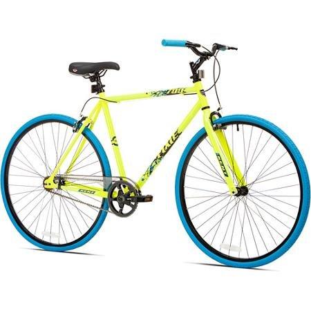 700c Kent Thruster Men's Fixie Bike, Yellow/blue eichholtz вешалка coatrack kent