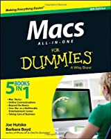 Macs All-in-One For Dummies, 4th Edition Front Cover