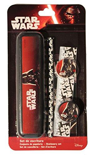Disney Star Wars-Set per scrittura con portamatite in metallo