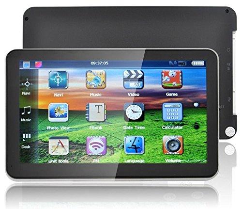 "7"" Car Truck GPS Navigation Sat Nav 8GB UK EU AU USA Canada Maps MP4 Player FM"