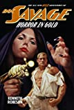 img - for Doc Savage: Horror in Gold (The Wild Adventures of Doc Savage) book / textbook / text book
