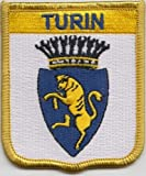 Turin Italy Flag Embroidered Patch Badge