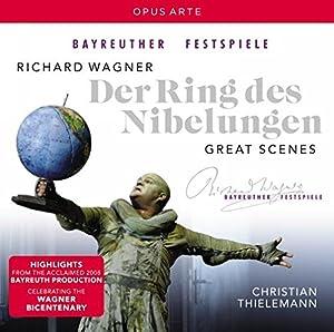 Wagner: Der Ring/ Great Scenes (Ring Cycle Highlights) (Christian Thielemann , Albert Dohmen, Ralk Lukas) (Opus Arte: OACD9011D)