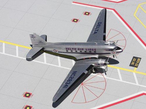 1: 200 ジェミニジェット Delta Air Lines DC-3 Old Colors (並行輸入)