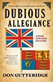 img - for Dubious Allegiance (Marc Edwards Mysteries) by Don Gutteridge (2013-06-04) book / textbook / text book
