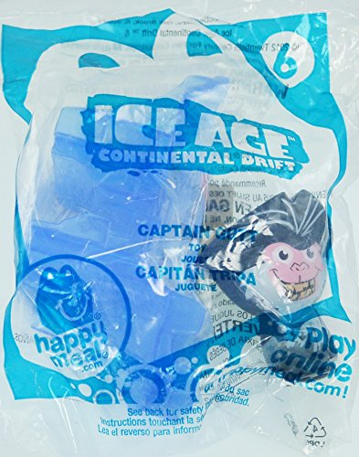 McDonalds Happy Meal Ice Age Continental Drift Captain Gutt #6 - 1