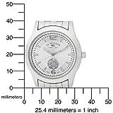 U.S. Polo Assn. Men's US8440 Silver Dial Silver-Tone Bracelet Watch