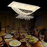 Ella Fashion Elegant Crystal Modern Chandeliers Pendant Ceiling Light...