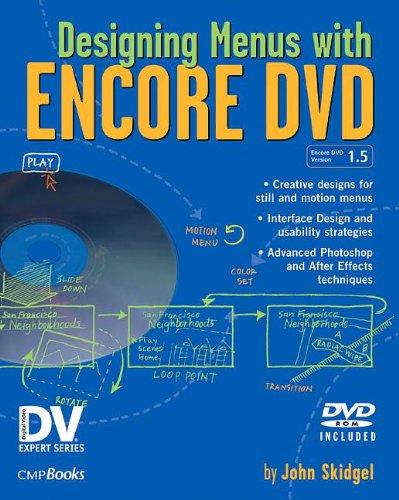 Designing Menus with Encore DVD