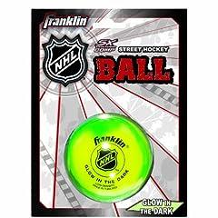 Franklin Sports NHL Street Hockey Glow In the Dark Ball by Franklin