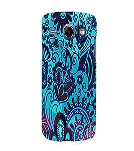 Fuson 3D Printed Designer back case cover for Samsung Galaxy Core I8262 / I8260 - D4495
