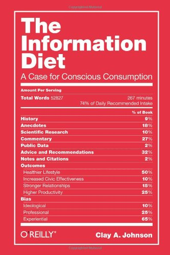 The Information Diet: A Case For Conscious Consumption front-494716
