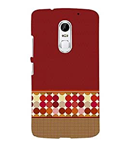 Sticker Wall Art Dotted 3D Hard Polycarbonate Designer Back Case Cover for Lenovo Vibe X3