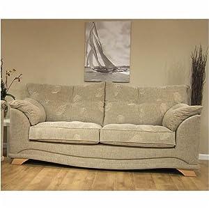 3 Seater Sofa Fabric Nicole Amazon Kitchen & Home