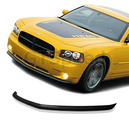 NEW - 05 06 07 08 09 10 Aftermarket Made DODGE CHARGER OE Front PU Bumper Add on Lip (Dodge Charger Aftermarket Parts compare prices)