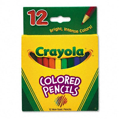 Crayola 68-4208: Multicultural Eight-Color Pencil Pack - 1