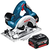 Bosch GKS18V-LI 18V Cordless Circular Saw in L-Boxx (2x 4.0Ah Batteries)