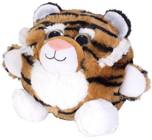 Wild Republic Fuzzball Tiger Plush - 1