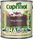 New 2014 Cuprinol Garden Shades Deep Russet 1L