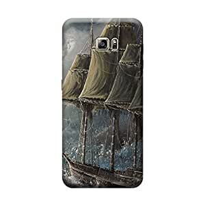 iShell Premium Printed Mobile Back Case Cover With Full protection For Samsung S6 Edge Plus (Designer Case)