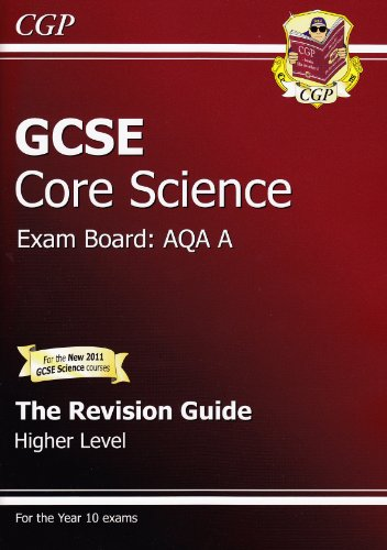 GCSE Core Science AQA Revision Guide