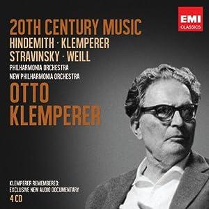 Hindemith /Stravinsky / Weil : 20th Century Music