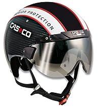 Casco Warp Carbon Fiber Cycling Helmet (Medium)