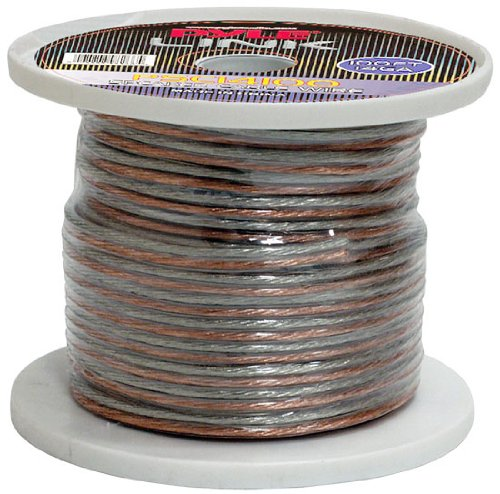 Pyle Psc14100 14-Gauge 100 Feet Spool Of High Quality Speaker Zip Wire