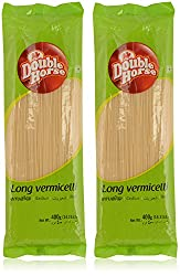 Double Horse Long Vermicelli - 400 g (Pack of 2)