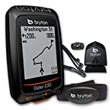 "Bryton Rider 330 GPS Cycling Computer (1.8"" display, 330T - With Cadence + HRM) Bryton"