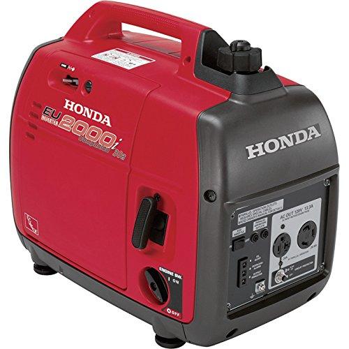 Honda Eu2000i Companion Portable Inverter Generator 2000 Surge Watts, 1600 Rated Watts, Carb-compliant (Honda Portable Generator Eu2000i compare prices)