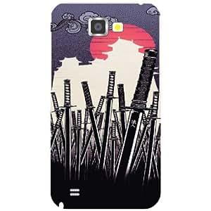 Samsung Galaxy Note 2 N7100 Back cover - Arrows Designer cases