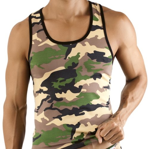 Pikante Tank Top Original Camouflage Men's Underwear