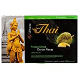 My Choice Thai, Freeze Dried Durian Pieces, 100 g (Pack of 1)