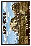 Big Rock - Okotoks, Alberta - World's Largest Glacial Erratic (12x18 Collectible Art Print, Wall Decor Travel Poster)