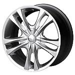 Sacchi S2 220 Hyper Silver Wheel (16×7″/10x105mm)