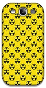 The Racoon Lean Radioactive hard plastic printed back case / cover for Samsung Galaxy S3