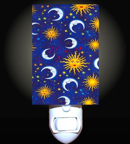 Celestial Sun Stars And Moons Decorative Night Light front-1026022