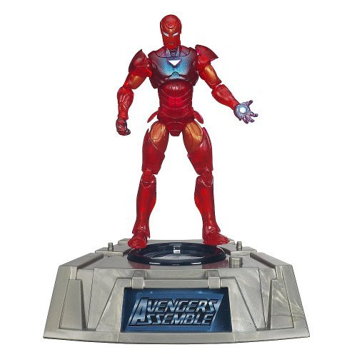 Marvel Universe Exclusive Comic Series Figure With Light Up Base Extremis Iron Man - 1