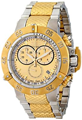 Invicta Men's 15949 Subaqua Analog Display Swiss Quartz Two Tone Watch