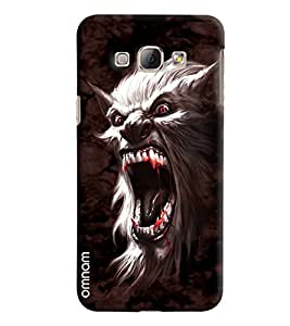 Omnam Wolf Annoying Printed Designer Back Cover Case For Samsung Galaxy A8