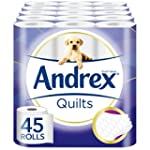 Andrex Quilts Toilet Tissue - 45 Roll...