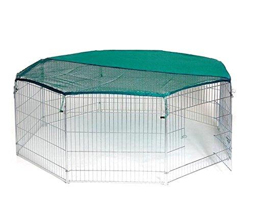 Songmics recinzione recinto per cani conigli animali for Recinto per cani amazon