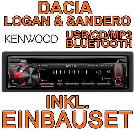 Dacia logan sandero &kenwood kDC-bT33U avec