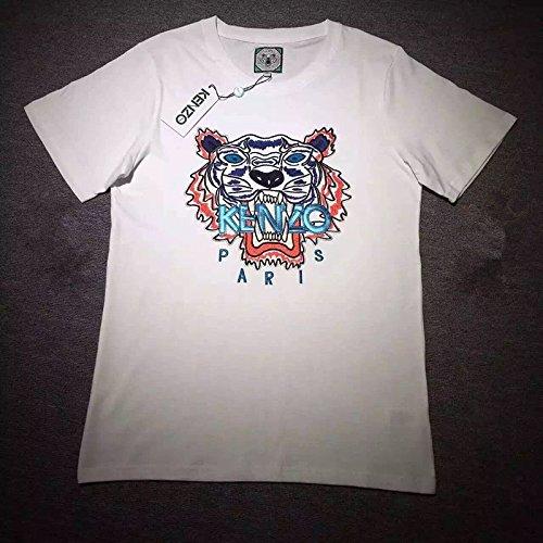 KENZO ケンゾー 刺繍 新品 半袖Tシャツ (S, 11)