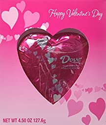 Dove Milk Chocolate Valentine Candy Solid Heart - 4.5 Oz