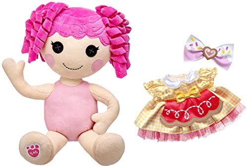 c36f97f6be0 Build A Bear Crumbs Sugar Cookie Lalaloopsy Doll Signature Dress Bow 19 In.  Stuffed Plush