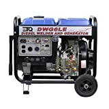 ETQ DWG6LE 3,000 Watt 10 HP 418cc Diesel Powered Portable Generator